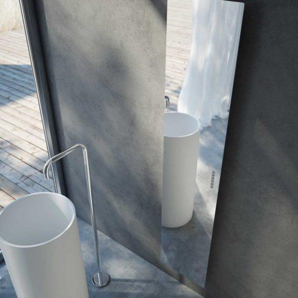 Antrax_Radiateur sèche-serviettes Tavola-total mirroir