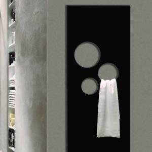 ComfortCalor_Radiateur sèche-serviettes Radiavetro Ruy. Verre dans 100 coloris