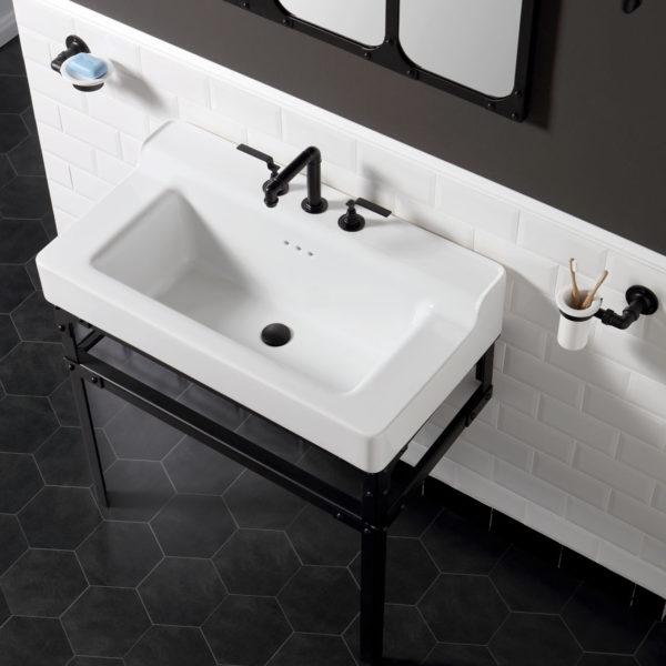 BP_console vasque céramique Metropolitan