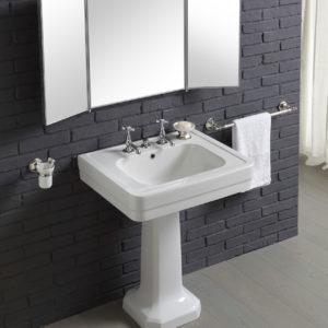 Burlington_lavabo colonne céramique rétro 970