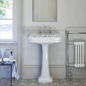 Burlington_lavabo colonne céramique rétro 2697