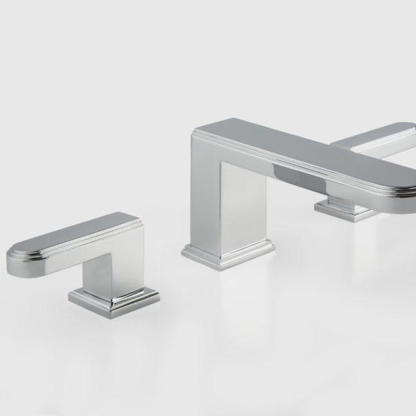 Cristal & Bronze_mélangeur lavabo Transatlantique chromé