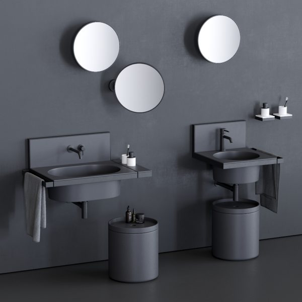 Cielo_console vasque céramique Elle