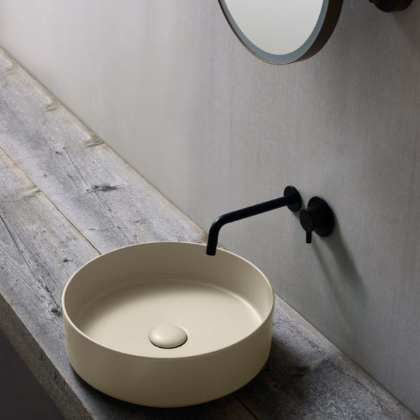 Cielo_vasque ronde en céramique Shui comfort