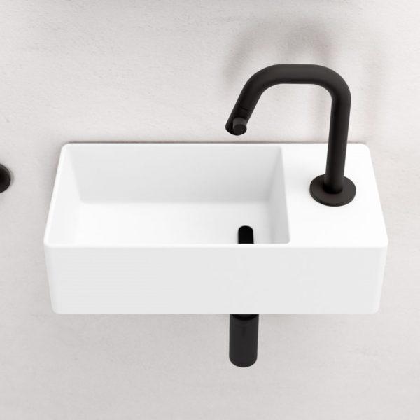 Clou_lave-mains mural Flush