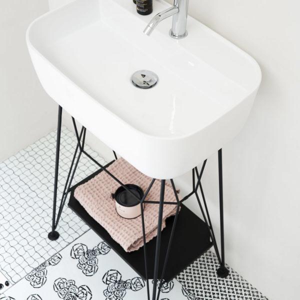 EX.t_Console vasque céramique_Gus sur piétement noir