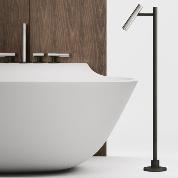 Falper-Paris_ensemble bain-douche Cilindro inox bicolore