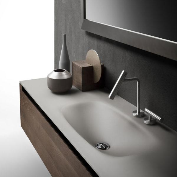 Falper-Paris_meuble vasque et plan verre Edge