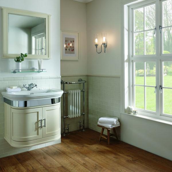 Imperial_meuble vasque suspendu rétro 160181, plan en céramique