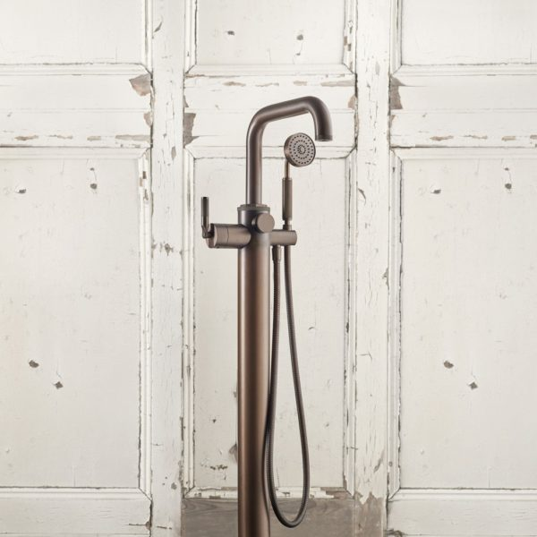 Samuel Heat_bain douche colonne Landmark bronze patiné