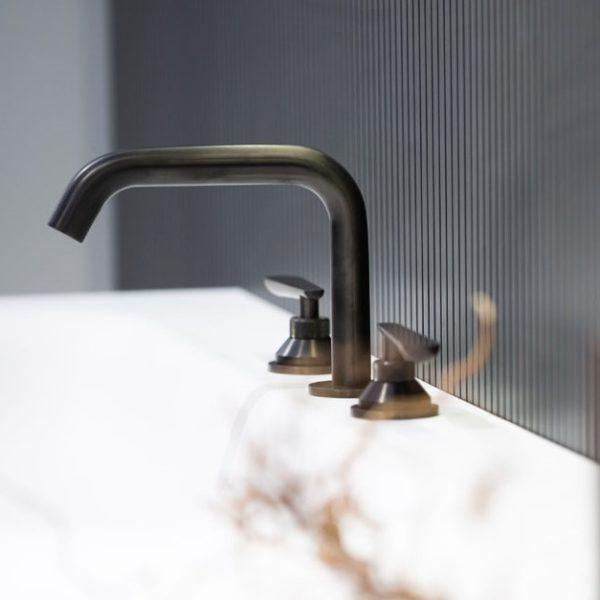 THG_mélangeur lavabo Dean PVD bronze brown