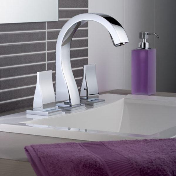 THG_mélangeur lavabo Pure chromé
